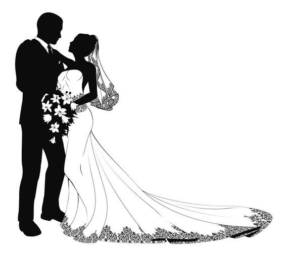 Vetores E Imagens Noivos Casamentos 3