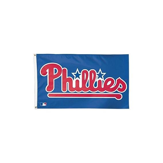 Bandera De Lujo Mlb Philadelphia Phillies 01785115, 3 X 5