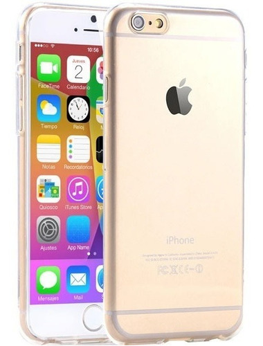 Forros iPhone 6 6s Normal Gel Tpu Transparentes