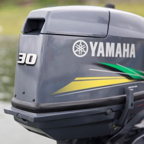 Motor De Popa Yamaha 30 H Hp Modelo Novo