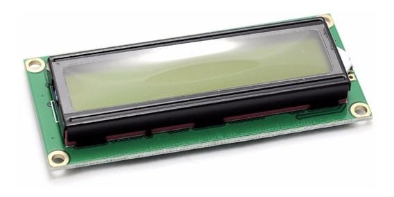 Lcd Display 16x2 Arduino C/ Fundo Verde - Arduino, Pic