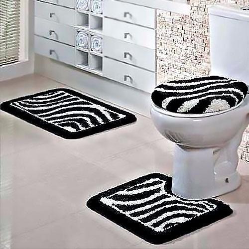 Jogo Banheiro 3 Peças Antiderrapante Tapertart