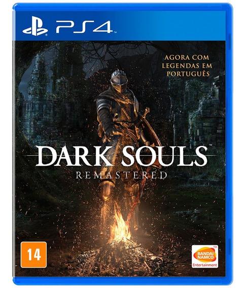Dark Souls Remastered Ps4 Pt-br Novo Lacrado Mídia Física