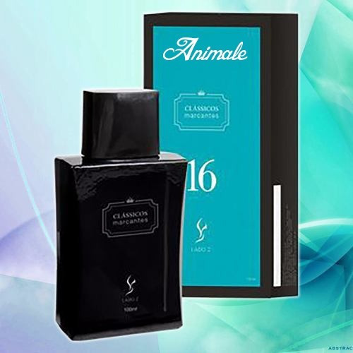 2 Perfume Animale 16 Cazo By Lado Z Clássicos Marcante 100ml