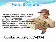 Mensajeria Moto Belgrano Pedi Tu Viaje Por Wathsapp