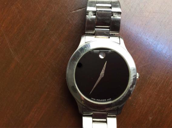 Reloj Suizo Movado Original Cuarzo Para Caballero