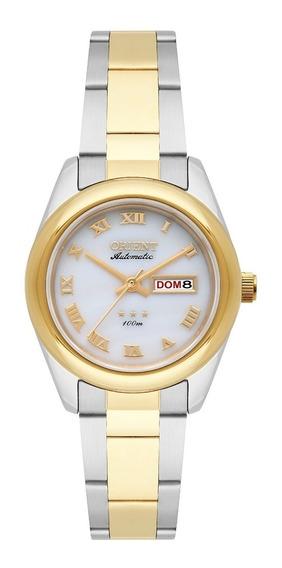 Relógio Orient Feminino Automático 559tt009 B3sk Misto