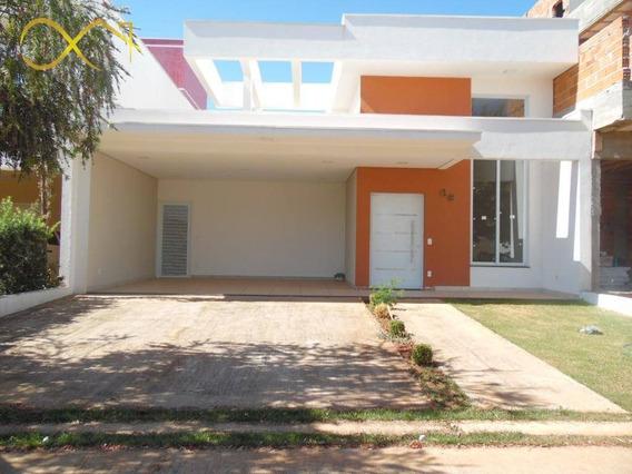 Casa Com 3 Dormitórios À Venda, 188 M² Por R$ 850.000 - Reserva Real - Paulínia/sp - Ca1930