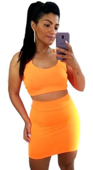 Roupas Femininas Conjuntos Shorts E Cropped/kit 20 Peças Csh
