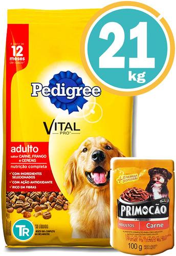 Pedigree Perro Adulto 21kg + Dentastix + Biscuits Y Envío