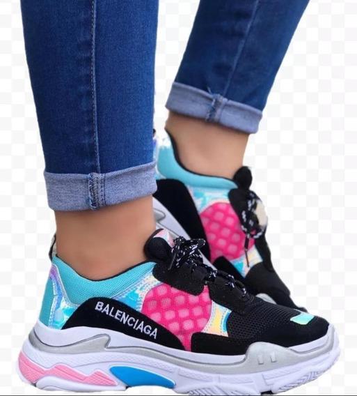 Tenis Zapatillas Balenciaga Dama Zapato Casual Mujer 2019