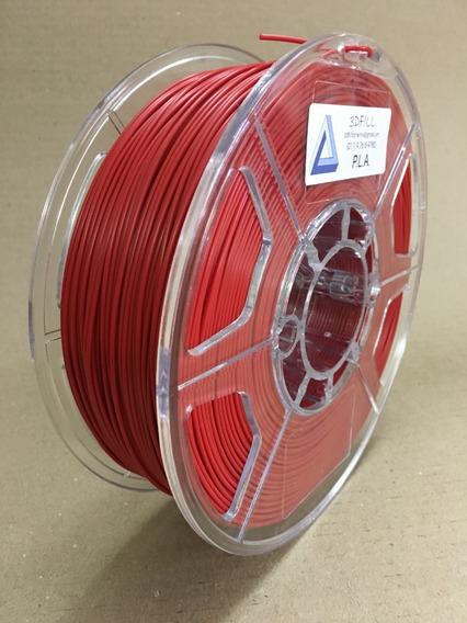 Filamento 3d Pla _ 1,75 Mm _ 1kg - Vermelho_frete Grátis