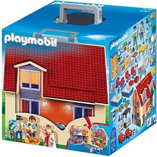 Casa De Muñecas Moderna Portátil Playmobil Stock¡¡¡