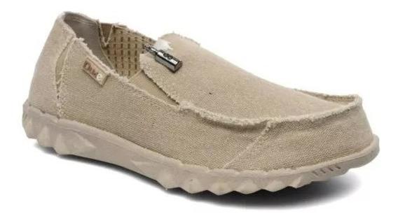 Zapato Zapatillas Hey Dude Farty Beige Hombre