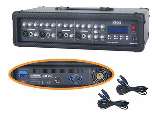Consola Potenciada Blg Mc4300b 250w 4ch-usb-display - Oddity