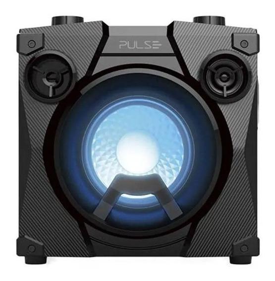 Caixa De Som Party Speak Cube Tws Bt Usb Fm Auxiliar Sp320
