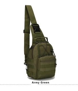 Mochila Backpack Táctica Militar Hombro Cruzada Deportiva