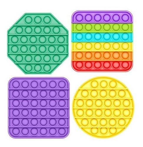 Imagen 1 de 4 de Omg Pop Fidget  Juguete Antiestrés Burbuja Surtidos