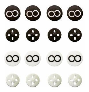 Kit Botão Porta Número Coolbutton Branco