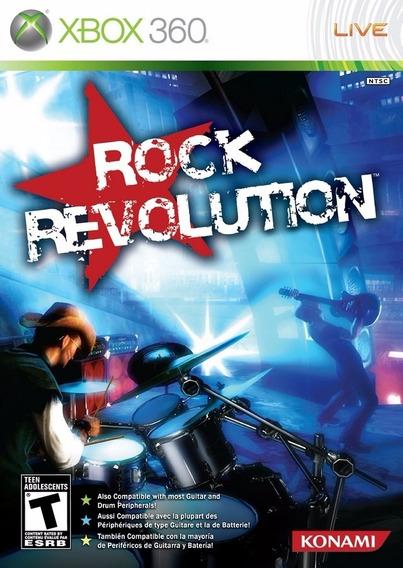 Rock Revolution - Xbox 360 - Midia Fisica - Saldão