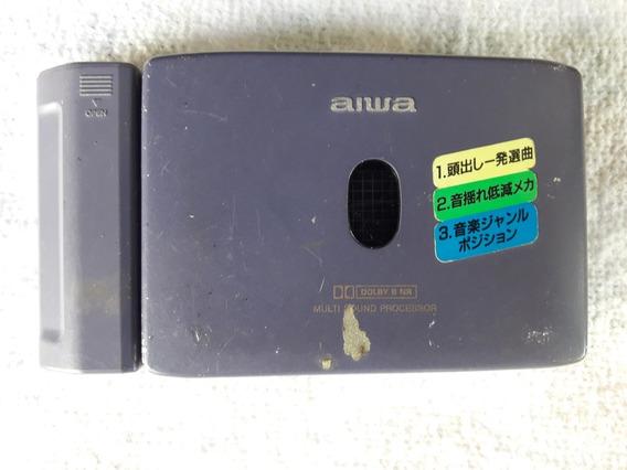 Walkman Aiwa Fx 720. Carregador + Aparelho. Peças Para Reposição. Produto Original Japonês.