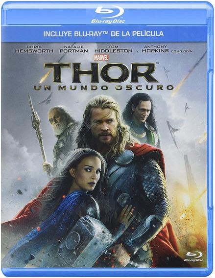 Thor Un Mundo Oscuro Chris Hemsworth Pelicula Bluray Slipcov