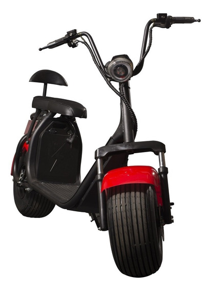 Moto Electrica Scooter Ruedas Anchas Spy Racing 1000w 60v
