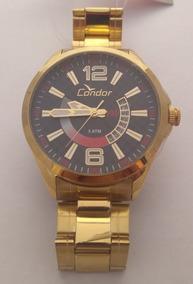 Relógio Condor Dourado Masculino Co2115vh/4c Barato Original