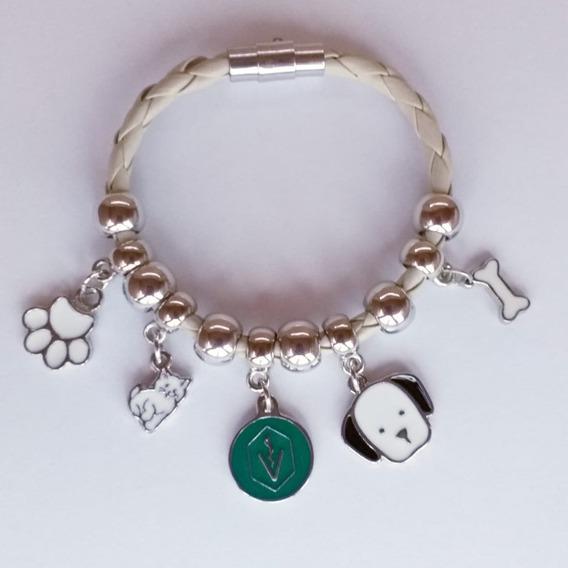 Pulseira Berloques Cães E Gatos Veterinária