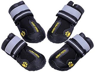 Qumy Botas Para Perros Zapatos Impermeables Para Perros Gran