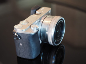 Camera Sony A6000 Seminova Com Lente Kit