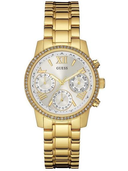 Relógio Guess Feminino Dourado 92535lpgsda4 W0623l3