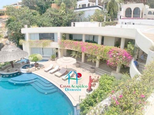 Cad Villa Del Sol. Alberca Con Jacuzzi Y Palapa Con Wet Bar