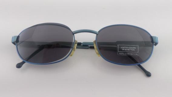 Óculos Sol, Metal, #vintage Benetton 2216c3
