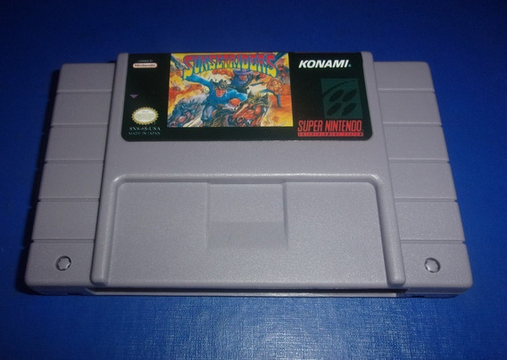 Sunset Riders Super Nintendo (paralelo Novo)
