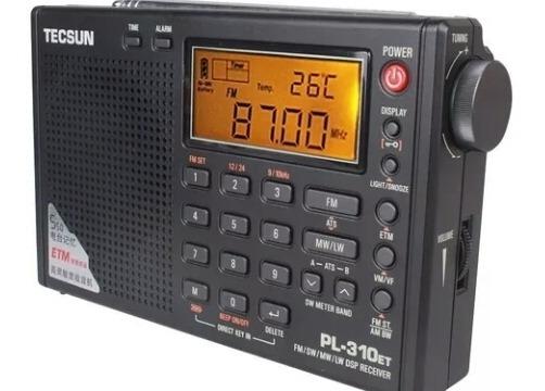 Radio Tecsun Pl-310et Am Fm Sw Ondas Curtas Degen Sony Pll