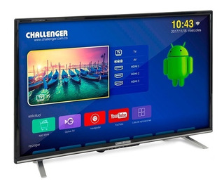 Televisor Led 32 Hd Smart Tv Android Challenger 32t20