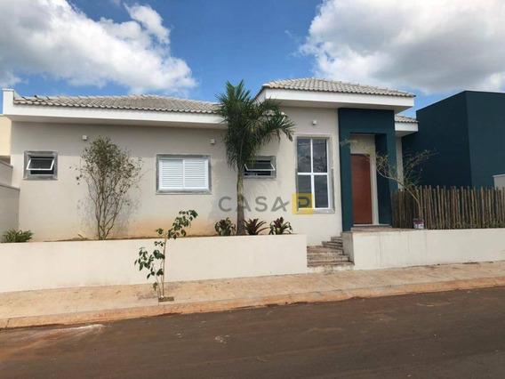 Casa Residencial À Venda, Parque Das Laranjeiras, Cosmópolis. - Ca0249