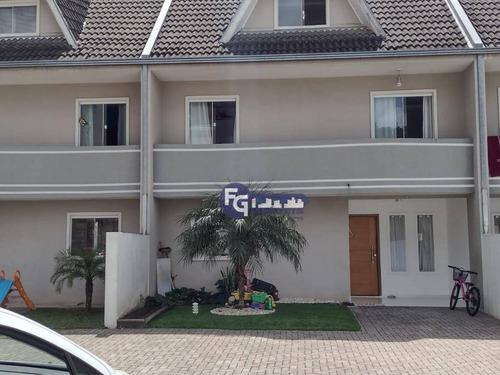 Sobrado Com 3 Dormitórios À Venda, 125 M² Por R$ 449.500,00 - Tingui - Curitiba/pr - So0129