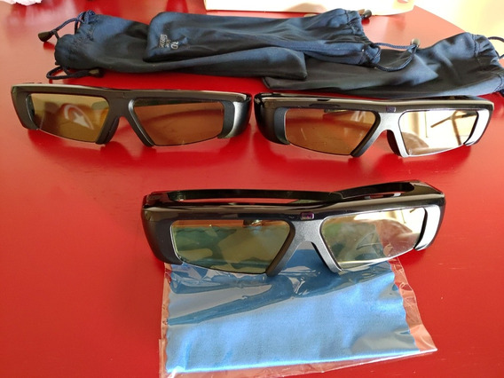 3 Óculos 3d Samsung Ativo