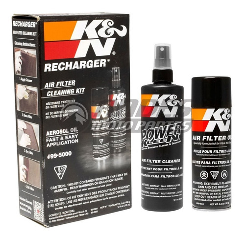 Kit Limpieza K & N Filtro Aire Alto Flujo K N K&n Kyn