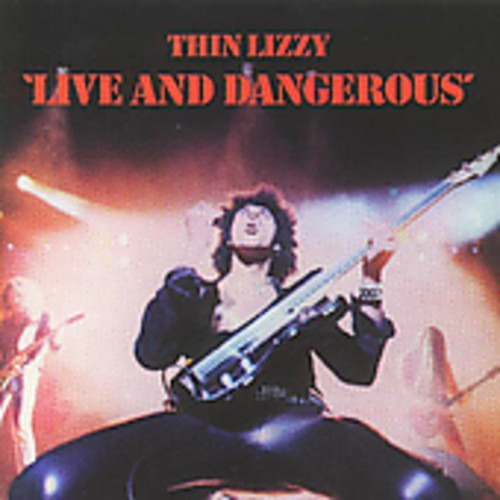 Thin Lizzy Live & Dangerous Cd Uk Import