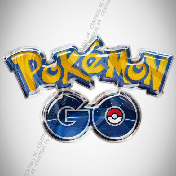 Adesivo Desenho Pokemon Go Resinado