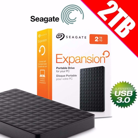 Hd Externo Seagate Expansion 2tb Usb 3.0 Parcelamento S Juro