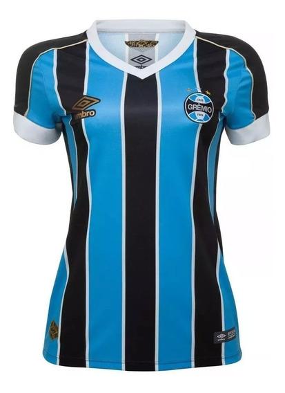 Baby Look Umbro Grêmio Oficial 2019 Fem Personalizada 10479