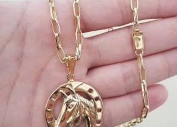 Peça Em Ouro... 750kl.. 38 Gramas Ouro Maciço Cordão Grande