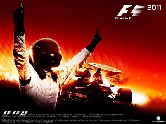 Formula 1 2011 - Ps3 Original Em Mídia Fisica