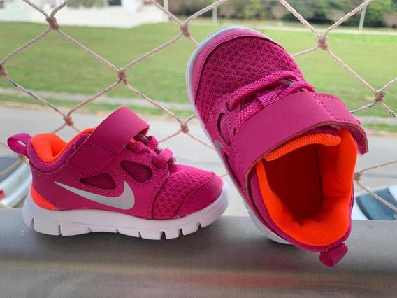 Tênis Infantil Nike Rosa - Tamanho 3c