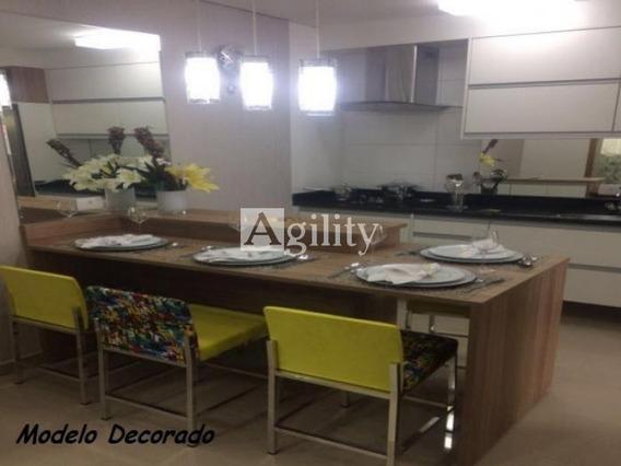 Apartamento Vila Carrão 1 Dormitorio, 1 Vaga Com 40 Mts² - 4249