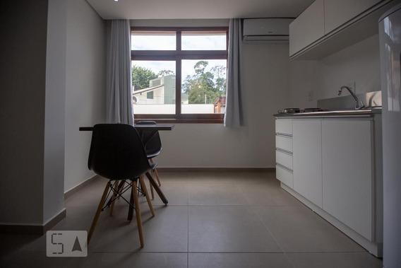 Studio Térreo Mobiliado Com 1 Dormitório - Id: 892965848 - 265848